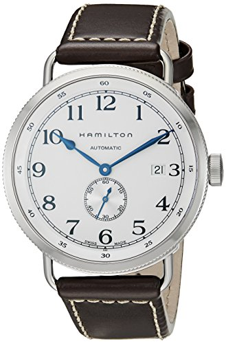 Hamilton Navy Pioneer Silver Dial Mens Watch H78465553: Watches