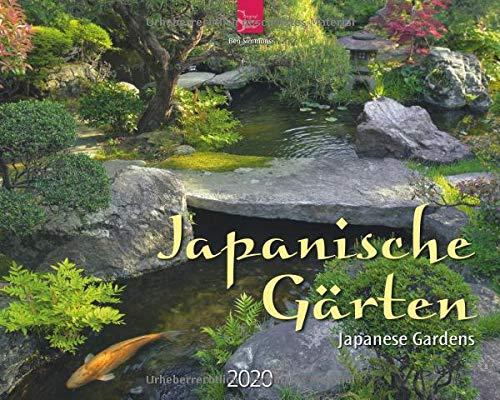 Japanische Gärten - Japanese Gardens: Original Stürtz-Kalender 2020 - Großformat-Kalender 60 x 48 cm