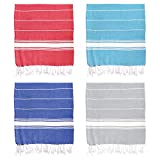 Nicola Spring 100% Turkish Cotton Towels | Beach Bath Gym Sauna | Hammam