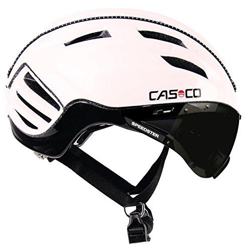 Casco Erwachsene Fahrradhelm Speedster plus, Weiß, L