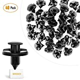 GOOACC GRC-09 40 Pcs Clips Nylon Bumper Fastener Rivet OEM Replacement 01553-09321 Fender Liner and Radiator 8mm