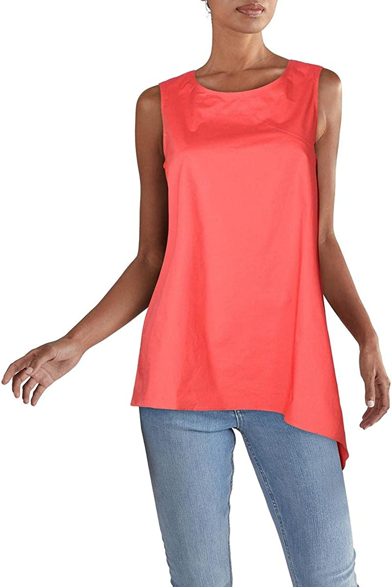Alfani Womens Asymmetric New A surprise price is realized Shipping Free Tunic Solid Top