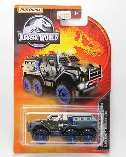 Armored Action Truck - Caminhão de Ação Blindado #10 - Jurassic World - 1/64 - Matchbox 2019