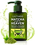 LILY SADO MATCHA MADE IN HEAVEN Green Tea Vegan Cleanser - Best Daily Facial Wash for Women & Men - Clears Pores, Treats Acne, Reduces Pore Size - Natural Extracts Gentle for All Skin Types - 5 oz