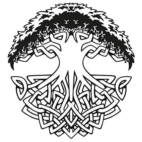 Wandtattoo Keltischer Lebensbaum
