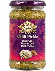 Patak'S Chili Pickle, pimientos picantes triturados en salamoia – 2 unidades de 283 g [566 g]