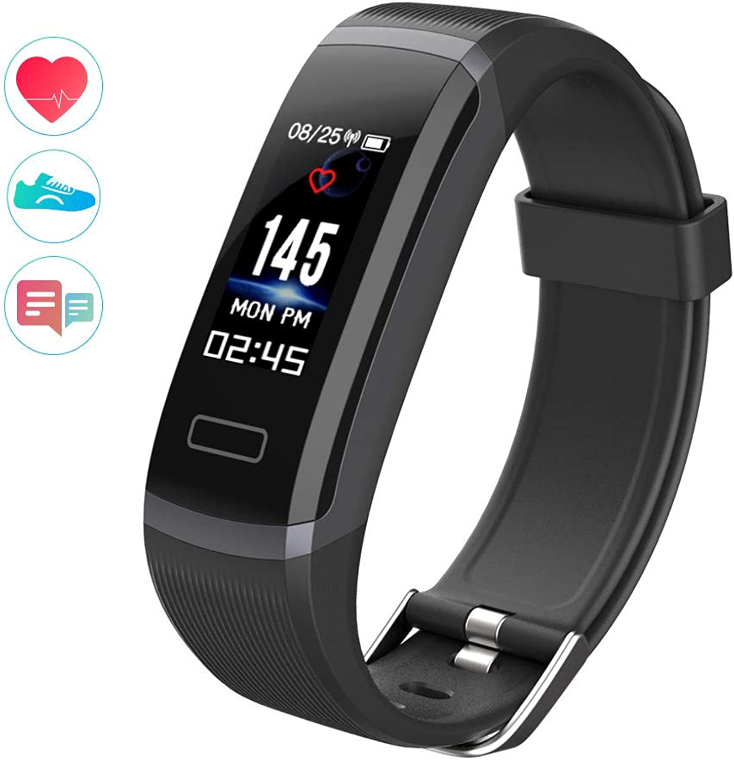 Smart Watch,Smart Watches Unlocked Watch Phone can Call and Text with Camera Notification Sync Compatible for Android iOS