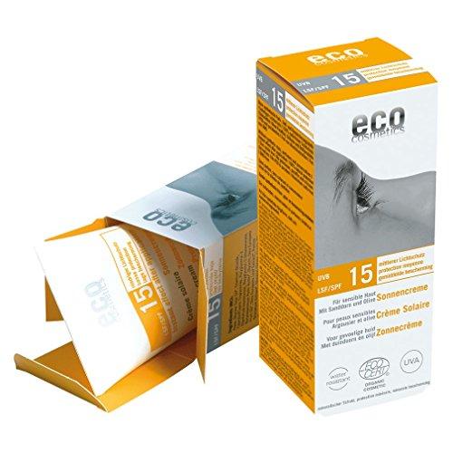 Sonnencreme LSF 15 Sanddorn und Olive - ECO COSMETICS