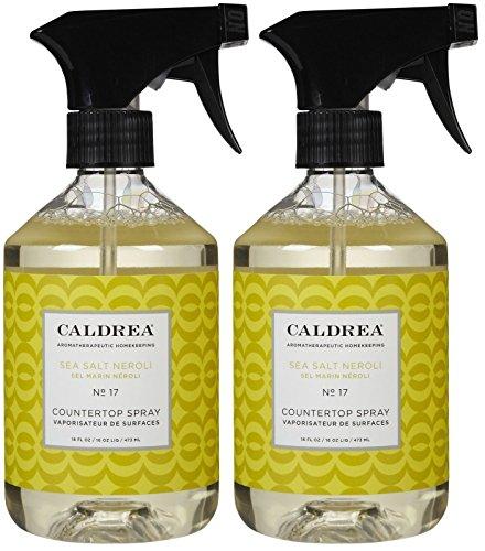 Caldrea Countertop Cleanser - Sea Salt Neroli - 16 oz - 2 pk