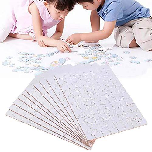 Yongse 10 x A5 DIY puzzel, bedrukbaar, met thermische sublimatie, voor warme pers