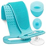 Silicone Back Scrubber for Shower, Back Scrubber for Shower, Back Scrubber, Silicone Body Brush, Back Washer for Shower, Silicone Bath Body Brush, Back Scrubber for Shower for Men & Women Exfoliating