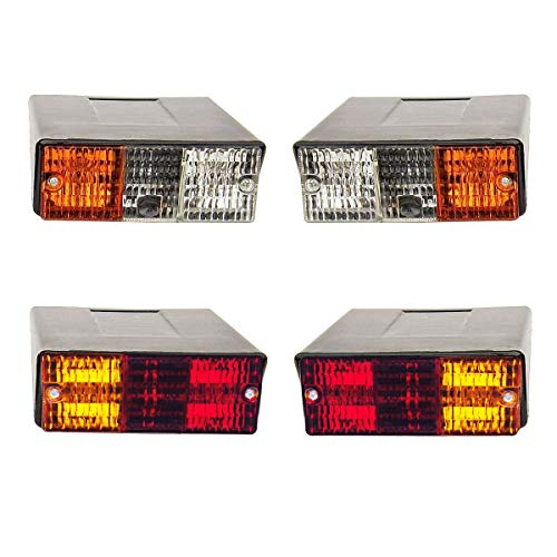 11001502 Massey Ferguson Deutz Fahr other Tractor Front Indicator Lamp Light set lh+rh with bulb Bajato