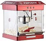 Rosenstein & Söhne Popcornmaschine mit Edelstahl-Topf und 800 Watt (Retro-Popcorn-Maschine) - 4