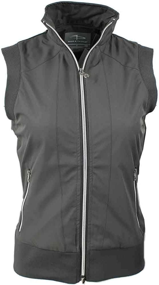 PAGE and Spasm Spasm price price TUTTLE Womens Piped Grey Vest - Athletic