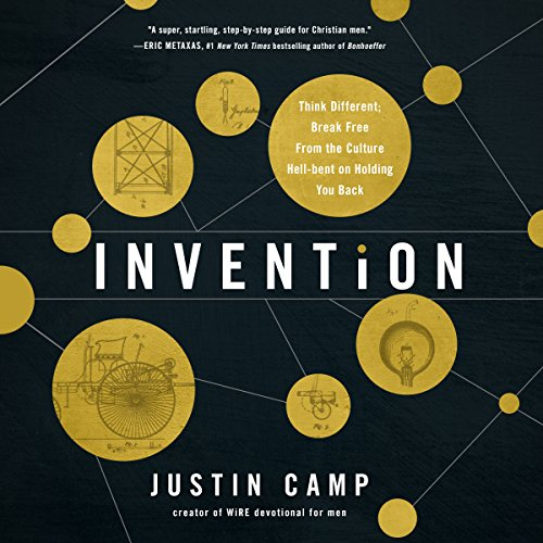 Invention audiobook cover art