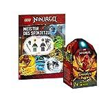 Collectix Lego 70686 Ninjago Kais Spinjitzu - Peonza de Spinjitzu (cubierta blanda)