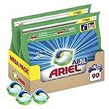 Ariel Pods Allin1 Detergente en Cápsulas para Lavadora, Frescor Los Alpes, 90 Lavados (2 x 45)