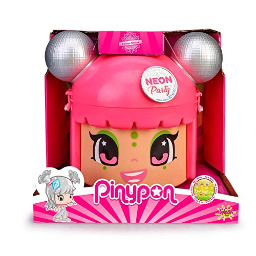 Pinypon Mix & Match Neon Party - Contenedor con 5 Figura