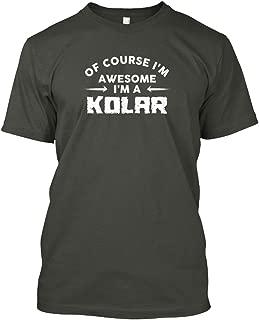 Awesome kolar Family Name t Shirt Tshirt - Hanes Tagless Tee
