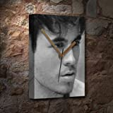 ENRIQUE IGLESIAS - Canvas Clock (A4 - Signed by the Artist)
