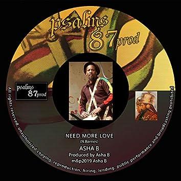 Need More Love (feat. Ebony)