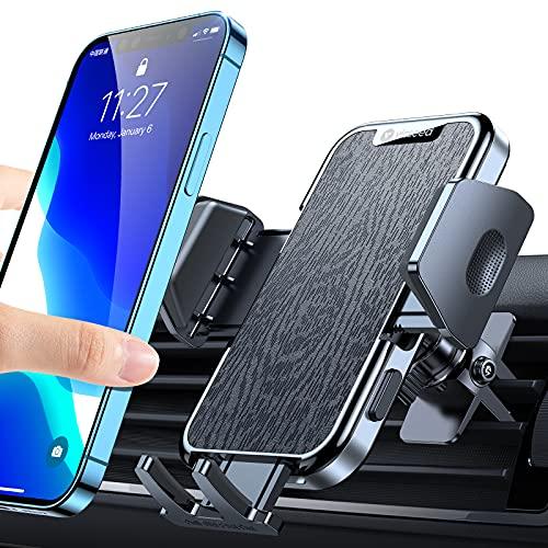VICSEED - Soporte para teléfono móvil de coche (grado militar)