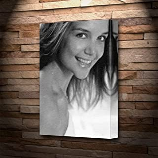 Katie Holmes - Canvas Print (Large A3 - Signed by The Artist) #js004