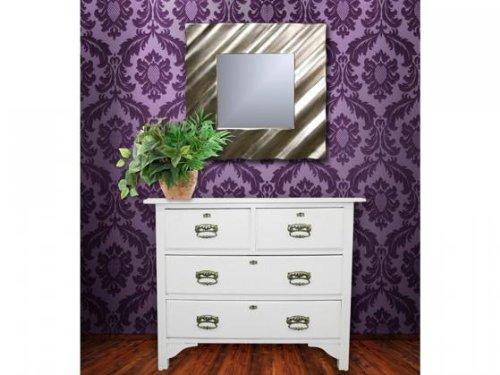 Aniba Design Design Spiegel modern-2, Silber ABSP0007