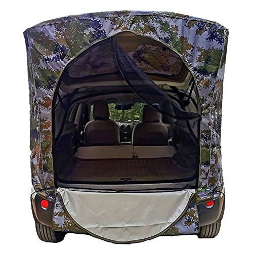 Car Trunk Tent Heckzelt tragbare Markise Campingbus Sonnensegel Winddicht und atmungsaktiv Autokofferraum Zelt Autokonto,Seite Konto Zelte Heckklappe Für Dongfeng Peugeot...