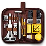 EasyTime Professional Watch Repair Kit, Watch Band Tool Link Pin Remover Set, Including Watch Back Case Opener, Spring Bar and Operation Manual, Suitable for Battery Replacement and Strap Adjustment