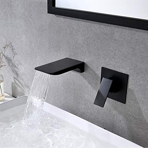 laton grifo cascada pared moderno, grifos lavabos de baño, grifo lavabo cascada...