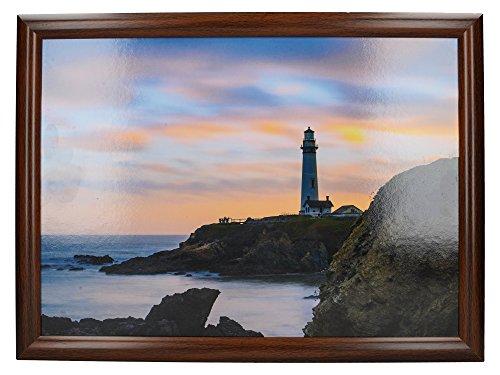 """Creative Tops 'Lighthouse' Gepolstertes Beanbag-Schoßtablett, 44 x 34 cm (17,5"""" x 13,5"""") - Mehrfarbig"""