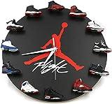 GFHN Reloj de Pared Mini Zapatillas 3D, diseño novedoso Reloj de Pared con Zapatillas 3D, Cocina del hogar y la Sala de Estar