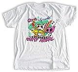 Oooh Spuds T-shirt | The Original Party Animal | Bull Terrier Dog Shirt | 80's Retro Tee | Boys, Girls, Men, Women, Styles | Organic Nostalgia