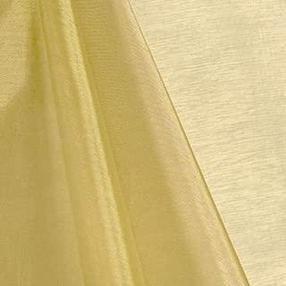 Best gold organza fabric Reviews