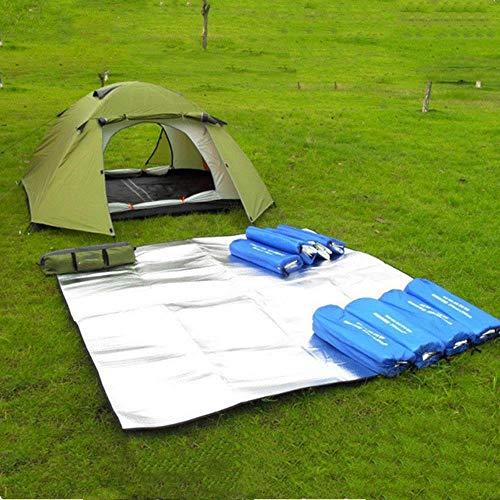Viner Nieuwe Camping Mat Tent Matras Waterdichte AluminiumfolieInklapbare Slapen Picknick Strand Pad Outdoor Mat, 100X200cm
