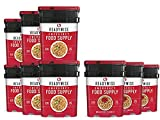 ReadyWise Long Term Emergency Food Supply, Breakfast and Entree Variety (9 Buckets- Total of 1080 Servings)