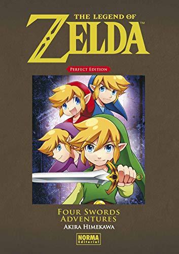 THE LEGEND OF ZELDA PERFECT EDITION 5:FOUR SWORDS ADVENTURES