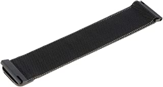 Flameer 22mm Mesh Milanese Loop Bracelet Stainless Steel Watch Band Strap for Samsung Galaxy Watch 46mm - Black
