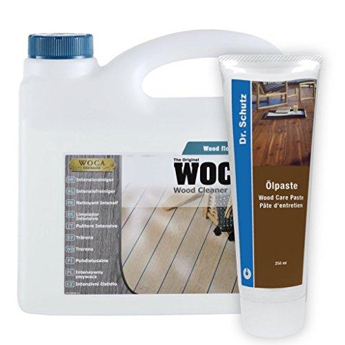 Woca Intensivreiniger inkl. gratis Ölpaste (2,5 Liter inkl. Ölpaste)