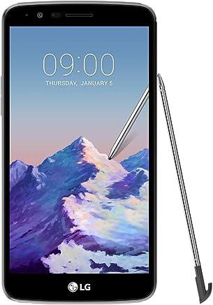 "LG Stylus 3 Dual (32GB, 2GB RAM) 5.7"" Display, 4G LTE Dual SIM GSM Factory Unlocked Phone w/ Stylus Pen - Titan"