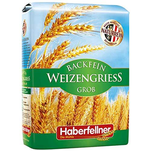 Haberfellner Weizengrieß grob | garantiert GVO-frei1 kg