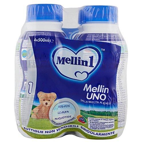 Mellin1 Mellin Ono Latte Materno, 4 x 500ml