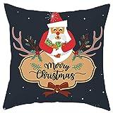 Allegorly Kissenbezug Weihnachten Motiven Weihnachten Deko Sofa Bett Auto Home Decor Festival...