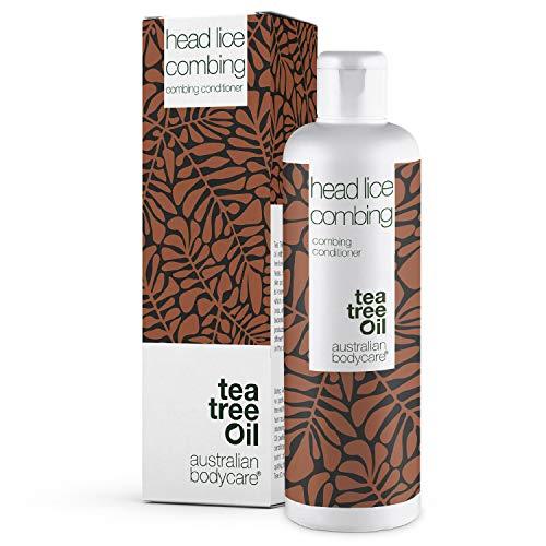 Australian Bodycare Head Lice Combing 250 ml | Tea Tree Oil Utredningsbalsam som används efter en lusbehandling | Produkter Mot Lös 100% vegan