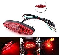LEDテールブレーキライト 自転車バイクライトマルチライティングモードLEDテールランプリアテール安全警告サイクリングUSB充電式懐中電灯用シートポスト (Color : D) 自転車ライト (色 : Red)