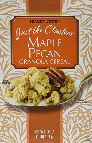 Trader Joe's Just the Clusters Maple Pecan Granola Cereal 16 Oz.