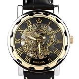 ORKINA KC023-L-Rose/Black - Reloj, Correa de Cuero