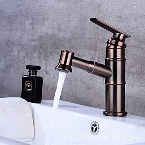 Wasserhahn Küchenspüle Wasserhahn Badezimmer Wasserhahn Einlocher Messing verchromter Wasserhahn
