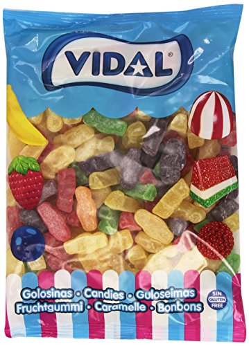 Vidal - Jelly Babies Azúcar - Caramelo de goma - 1 kg
